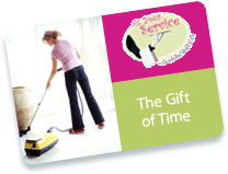 home cleaning gift card